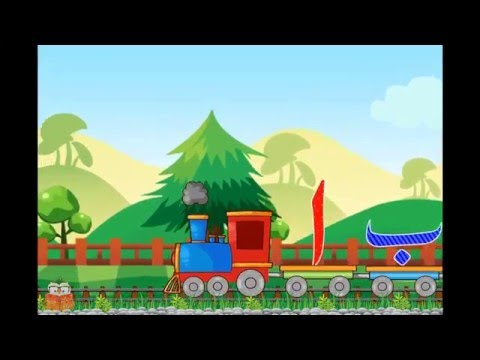 Alif Bay Train | Urdu Alphabet Train | Haroof e Tahajji Train