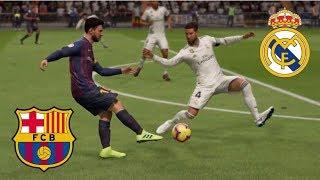 REAL MADRID vs BARCELONA | PARTIDO VUELTA COPA DEL REY 2019 | FIFA 19