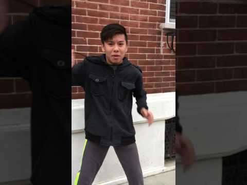 Vietnamese Kid Tries To Morph Into a Power Ranger