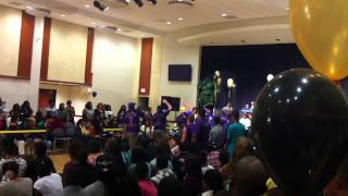 Omega Psi Phi Beta Kappa Chapter WVU Partywalk competition (round 1)