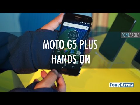 Moto G5 Plus Hands On