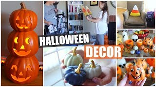 🎃Decorate with Us/Halloween Decor Tour! 2018 🎃