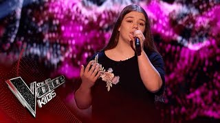 Lola Performs 'Like I'm Gonna Lose You': Blinds 3 | The Voice Kids UK 2018