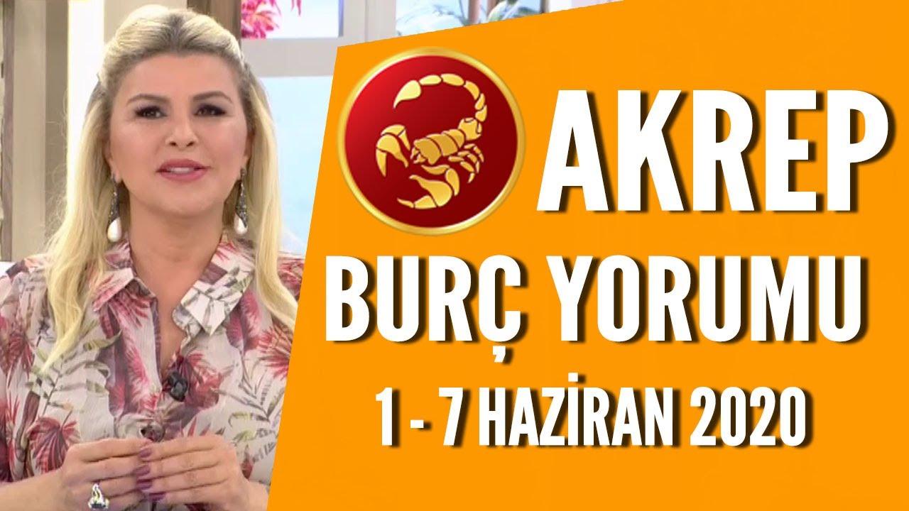AKREP BURCU | Aman kapris yapmayın! | 1 - 7 Haziran 2020