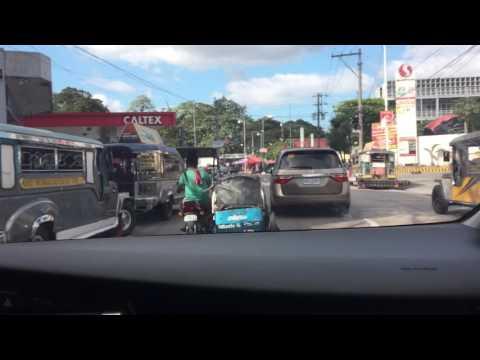 Driving in Manila - Blumentrit Sta. Cruz Manila