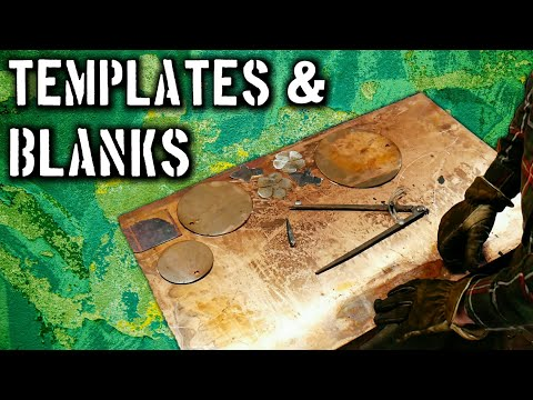 Save Time with DIY Metal Templates and Blanks