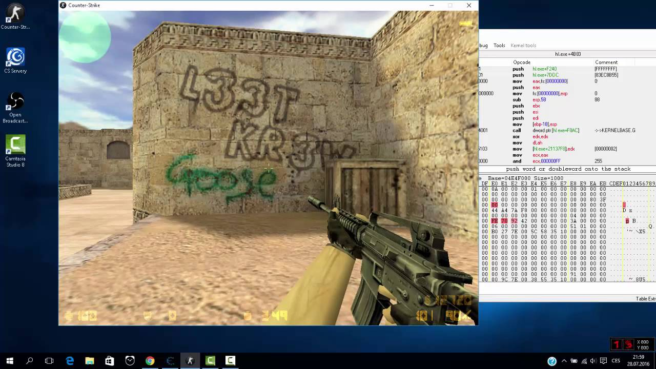 unknowncheats tutorial no recoil cheat engine