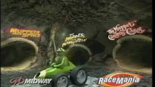 Muppet Race Mania playstation game trailer (short version) (2000)