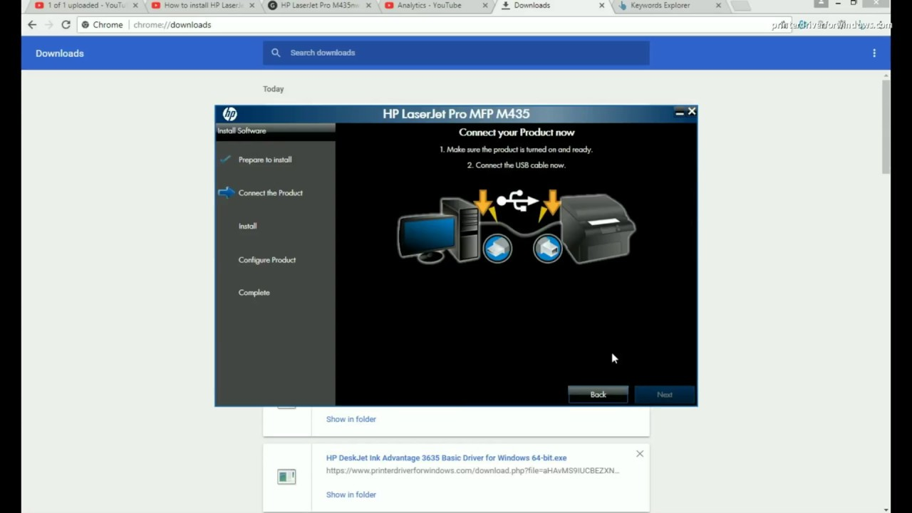 How to install HP LaserJet Pro M435nw Multifunction ...