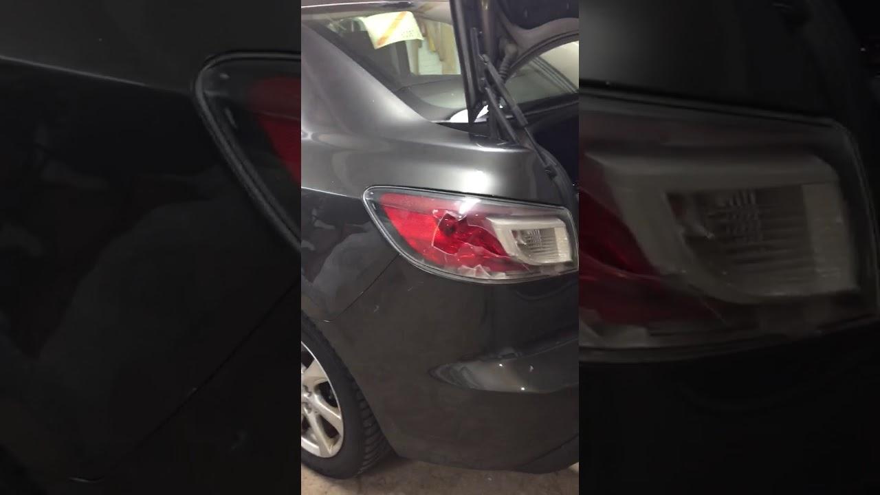 Mazda 3 Mazda3 Tail Light Lamp Taillight Removal 2010 2017