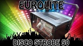 """""""EUROLITE DISCO STROBE 50"""" -Vorstellung des 12,50 Euro Blitzer"""