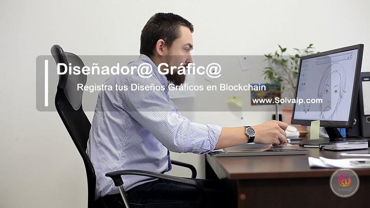 Diseñador@ Gráfic@ | Registra tus Diseños Gráficos en Blockchain | www.Solvaip.com