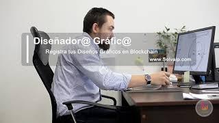 Diseñador@ Gráfic@   Registra tus Diseños Gráficos en Blockchain   www.Solvaip.com