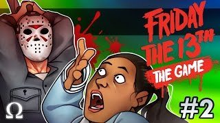 CROTCH CHOPPER, JASON'S DATE DISASTER! | Friday the 13th The Game #2 Ft. Delirious, Bryce