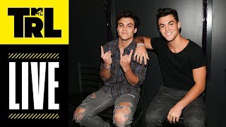 The Dolan Twins Play Hoverboard Hockey LIVE! | Weekdays at 4pm | #TRL