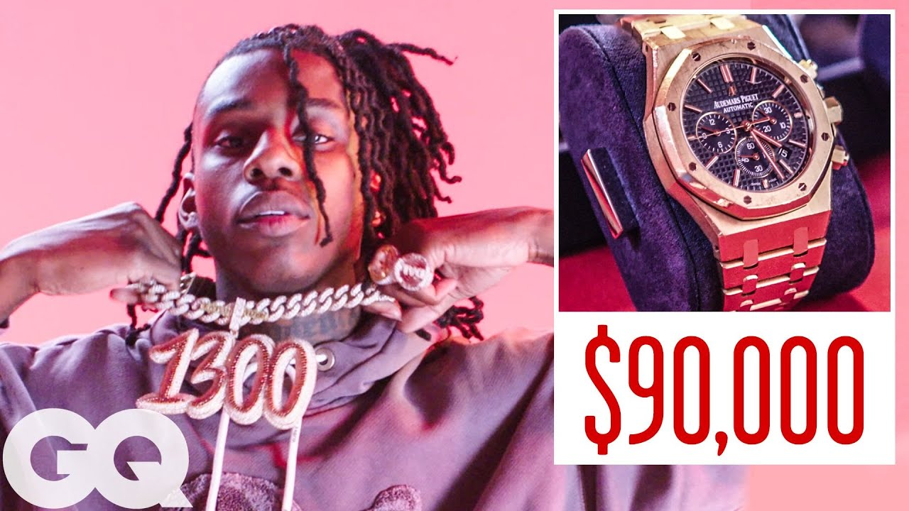 Polo G Shows Off His Insane Jewelry Collection | On the Rocks