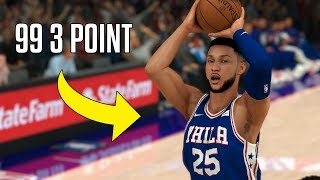 What If Ben Simmons Could Shoot Like Stephen Curry? | NBA 2K20