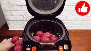 Второй день не могу оторвать мужа от тарелки Не успеваю готовить картошку с фаршем в мультиварке