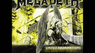 Megadeth - A Tout Le Monde (Set Me Free) E Flat