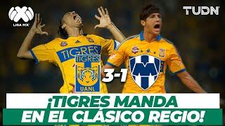 ¡Super clásico! Lucas Lobos hace explotar el volcán con un golazo | Tigres vs Rayados - 2013 | TUDN