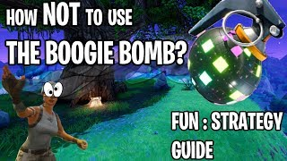 INTRODUCTION TO THE BOOGIE BOMB GUIDE FOR NOOBS - FORTNITE BATTLE ROYALE