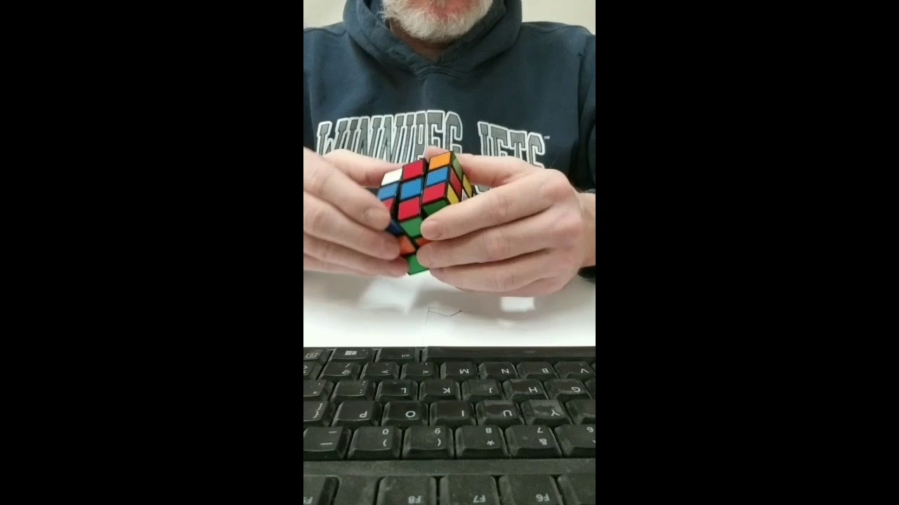 Solving rubics cube in 45 seconds