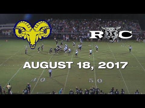 Reidsville Rams vs Rockingham County Cougars -  August 18, 2017