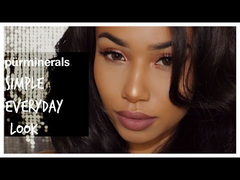 MAKEUP | Simple Everyday Look w/ PUR MINERALS