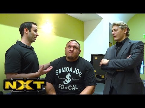 Regal is informed of Samoa Joe's previously undisclosed injuries: NXT Exclusive, Aug. 31, 2016