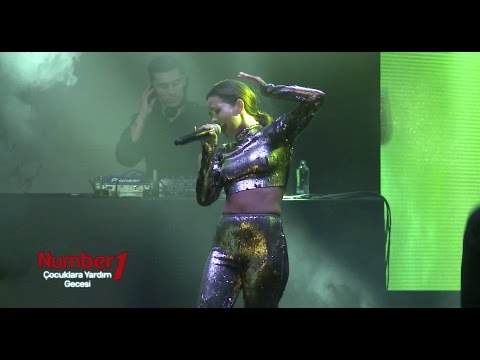 INNA CANLI PERFORMANS - İSTANBUL / Hot Fly Like you Do It ... Like a Woman