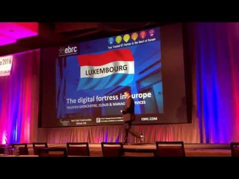 WHD USA 2016- EBRC - Luxembourg, the Digital Fortress in Europe