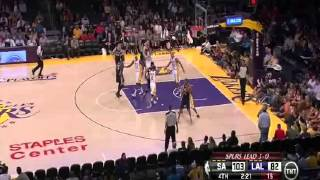 Tracy Mcgrady Plays His First Game As A Spur (2013 NBA Playoffs Debut Highlights Vs Lakers R1G4)