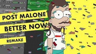 Making a Beat: Post Malone - Better Now (IAMM Remake)