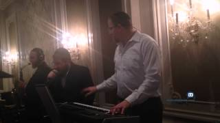 Pinny Ostreicher, Shea Berko, Yeedle Sing At Wedding