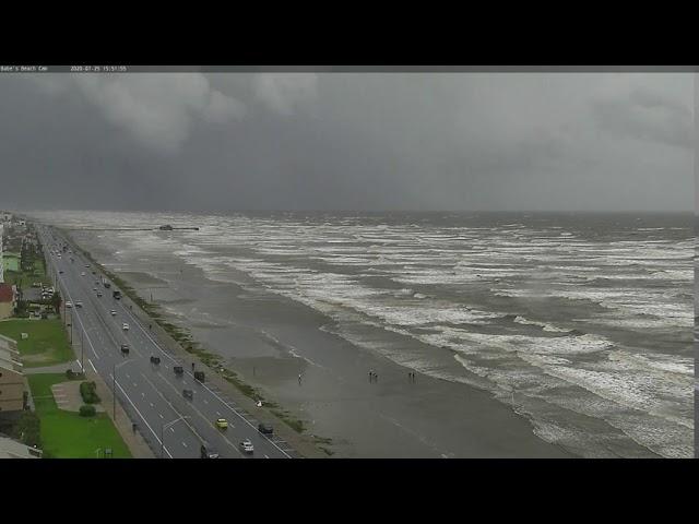Babes Beach Timelapse During Hurricane Hannah