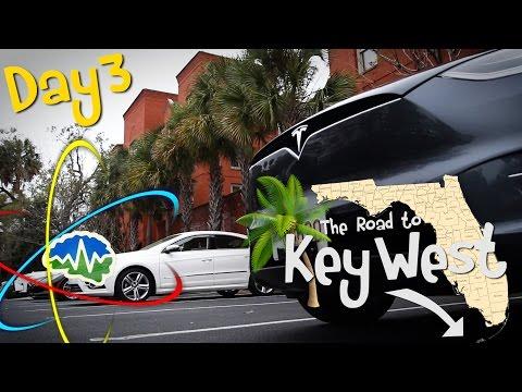 Tesla Model X: Key West Roadtrip - Day 3