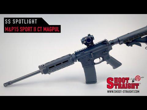 Smith & Wesson M&P15 Sport II w/ Crimson Trace & Magpul Handguard Rifle - Shoot Straight Spotlight