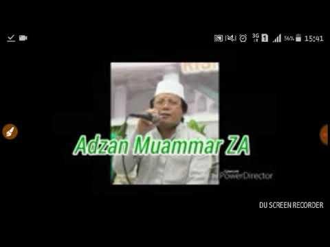 Adzan merdu Muammar ZA