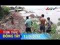 Đê bao sụp xuống sông Tiền   TIN TỨC ĐÔNG TÂY - 12/9/2018 thumbnail