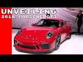 2018 Porsche GT3 Unveiling