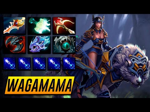 Wagamama Mirana - HARD CARRY - Dota 2 Pro Gameplay [Watch & Learn]