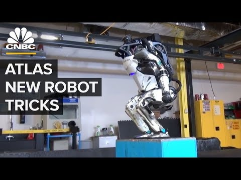 Boston Dynamics' Atlas Robot Can Do Parkour - CNBC