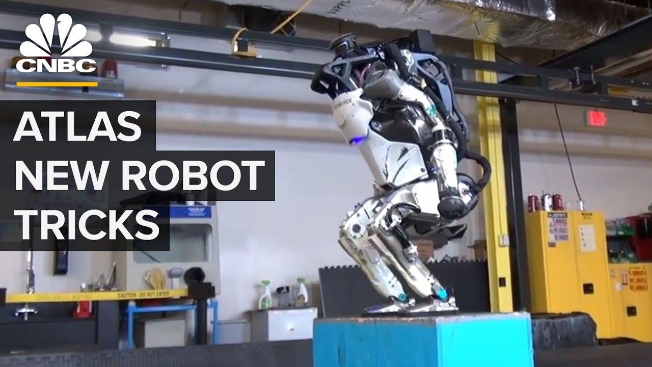 Boston Dynamics' Atlas Robot Can Do Parkour - YouTube