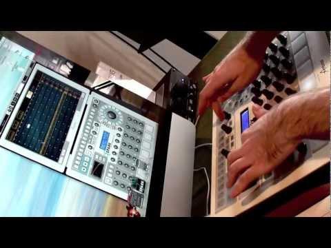 Arturia SPARK - Part A - BEAT CHOPPING! - Remixing the Rhythms LIVE