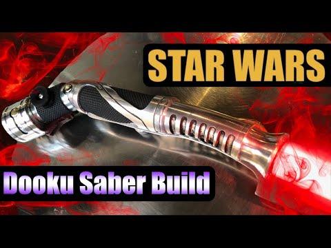 Star Wars Dooku Lightsaber Hilt Build