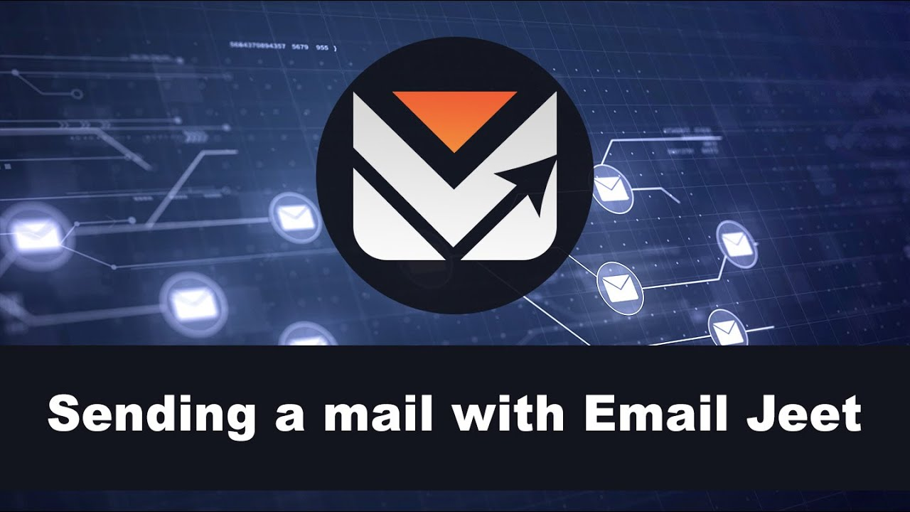Sending a mail with Email Jeet - YouTube