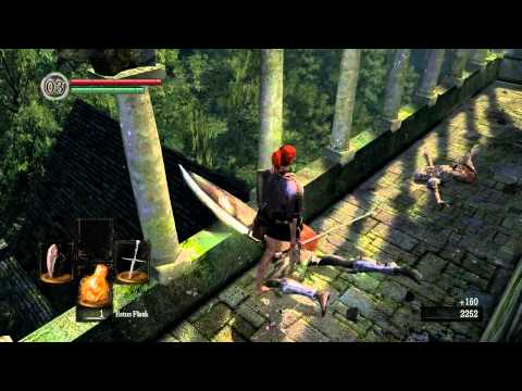 Let's Play Dark Souls [PC German] Part:5 Undead Parish