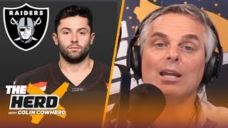 Colin Cowherd finds the best city for NFL QBs based on personality traits | NFL | THE HERD