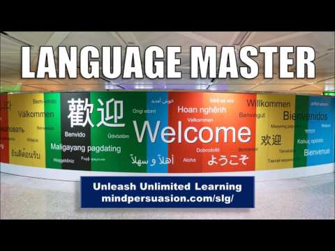 Language Master- Master Any Language Of Your Choice- Hypnosis