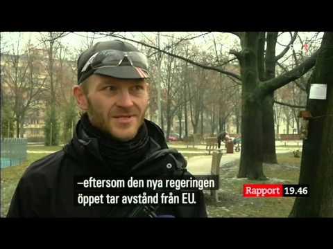 szwedzka TV o kontroli UE wobec Polski (fragment z gl wyd wiadomosci)